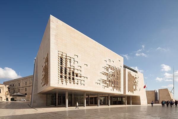 Renzo Piano Valletta