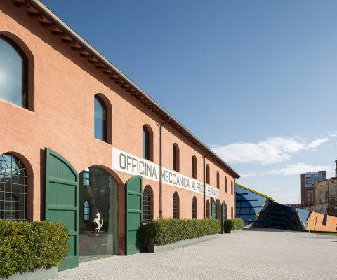 ferrari museum from the outside